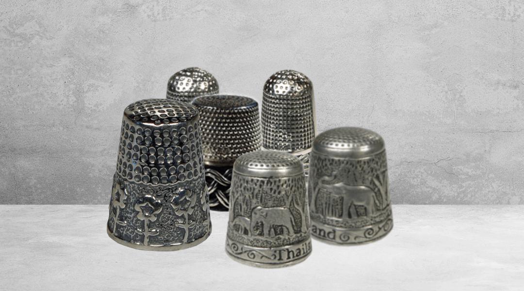 Silberverarbeitung beim Fingerhut
