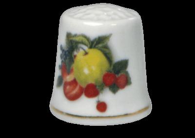 1042377 Früchte - Apfel & Erdbeeren