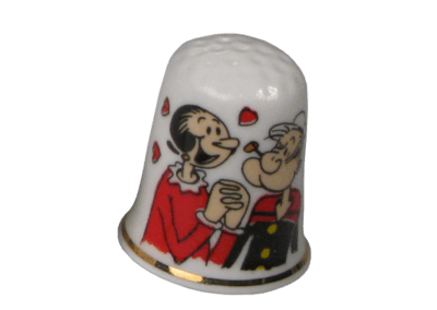 1122582 Popeye (6tlg.) - Olive Oyl in love